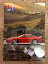 MITSUBISHI 3000 GT Car Sales Brochure Aug 1996