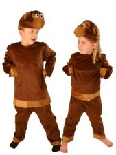 Kids Monkey Costume - Animal Suit for Children - Party, Halloween - 6-8 Years