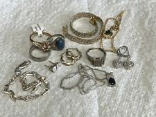 Lot of Sterling Silver 925 Jewelry- 11 pieces (48+ grams)    153