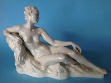 Rosenthal Porzellanfigur liegendes nacktes Mächen Akt Nude #126 G.A. Bredow~1934