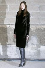 NIB Maison Martin Margiela Black Leather Knee high Boot Size 38