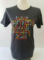 Dave Matthews Band Summer 2018 Concert Tshirt Tee Small Canvas Heathered Gray