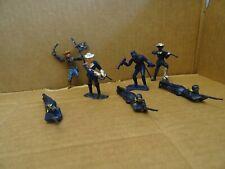 Cherilea Us Cavalry/Union Soldiers 7 Figures. 1960s