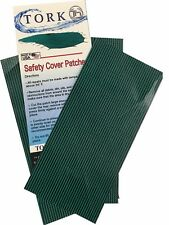 3 Pack MESH Swimming Pool Safety Cover Green Repair Patches with Self Adhesive