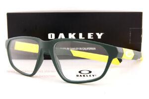 Brand New Oakley Eyeglass Frames Tail Whip OY8011-0351 Satin Team Green For Men