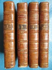 LINGUET : THEATRE ESPAGNOL, 1770. 4 volumes in-12. Edition originale.