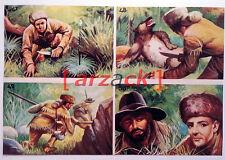 Album LONTANO WEST 1 DARDO 1962 - 4 figurine 47 48 49 50