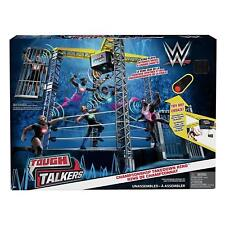 WWE Tough Talkers Championship Takedown Ring Playset Kids Toy Gift Present Game