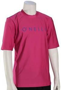 O'Neill Kid's Basic Skins 30+ Surf Shirt - Fox Pink - New