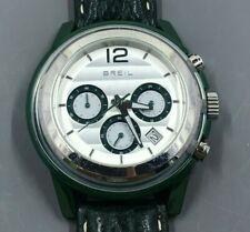 Breil Men's Chronograph Watch, TW1084 Orchestra Collection, Quartz Green 45mm