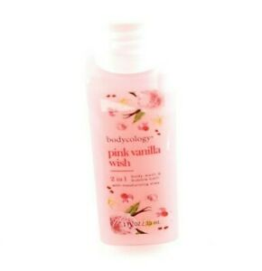 Bodycology Pink Vanilla Wish Body Wash Bubble Bath Moisturizing Shea USA Seller