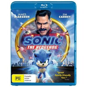 Sonic the Hedgehog Blu-ray. Brand New & Sealed.