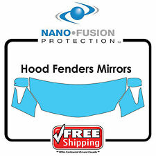 Kits For BMW Cars - Avery Nano Fusion Paint Protection Film - Hood Fender Mirror
