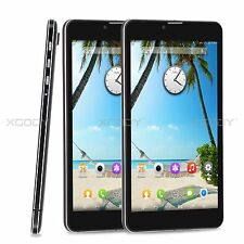 7'' Touch Android4.4 cell Smart phone Dual SIM Quad Core 3G Phablet Unlocked 8GB