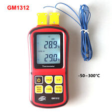 Digital Thermometer 50300c Thermocouple K 2pcs With Termometro Meter