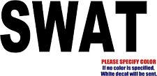 "Vinyl Decal Sticker - SWAT #11 Car Truck Bumper Windos Laptop Tablet JDM Fun 7"""
