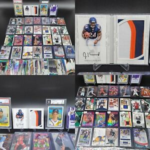 HUGE PATCH AUTO RPA PRIZM PSA GRADED JERSEY ROOKIE SP SPORTS CARD COLLECTION LOT