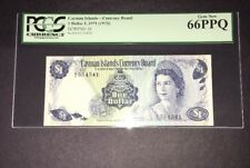 PCGS Currency Graded Cayman Islands Currency Board $1 Banknote 1972 P1b