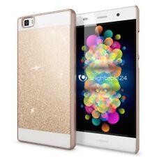 Huawei P8 Lite  Handyhülle von NALIA Glitzer Slim Hardcase Cover Schutz Hülle