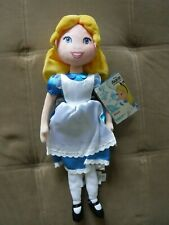 New Disney Store Alice in Wonderland Doll Plush Toy 18""