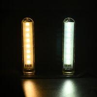 USB LED Lamp 8 Leds LED Lamp Lighting Computer Mobile Power Small Night Light HS