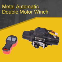 Automatic Double Motor Winch For 1:10 RC Crawler Car SCX10 TF2 TRX4 D90 Axial