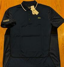 Mens Authentic Lacoste Sport Ultra Dry Polo Shirt Inkwell Blue 6 (XL) $98
