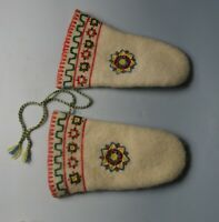 Cute vintage pair  Native American mittens inuit eskimo
