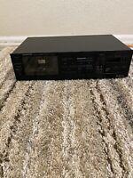 Kenwood Stereo KX-87CR  Single  Cassette Deck