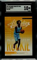 19-20 Panini Absolute Yellow Ja Morant Rookie , SGC 10 GEM MINT QTY