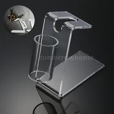 1Pc Tattoo Machine Holder Acrylic Transparent Essential Accessory W5X7