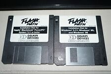 "Flash Path Delkin Devices 3.5"" Floppy Installation Disks for Windows & Apple"