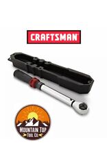 CRAFTSMAN 31423 Micro-Clicker TORQUE WRENCH 3/8in Inch Drive Click 25-250 in lbs