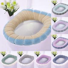 Soft Bathroom Toilet Seat Closestool Washable Warmer Mat Cover Pad Cushion HOT