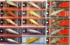 Lucky Craft Bevy Pencil 60 Fishing, Japan Wobbler, Bait, Trout, Pike, Predators
