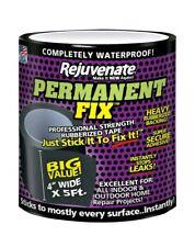 New listing Rejuvenate Permanent Fix 5 ft. L x 4 in. W Professional Strength Rubberized Tape