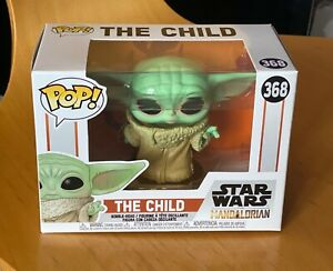 Rare Funko Pop Star Wars The Mandalorian - The Child (Baby Yoda) #368 1st Issue
