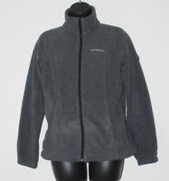 Columbia Benton Springs women's dark gray full zip fleece jacket, size XS, EUC