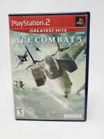 Ace Combat 5: The Unsung War Greatest Hits (PlayStation 2) PS2 Complete CIB
