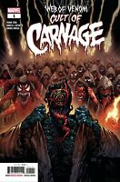 Web of Venom Cult of Carnage #1 Marvel comic 1st Print 2019 NM