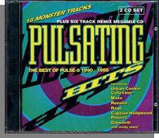 Pulsating Hits (1994) - New 24 Track Dance Music Double CD! Various Artists!