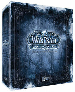 World Of Warcraft videogame Collectors Edition Wrath Of The Lich King Eng