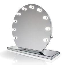 Espejos decorativos de maquillaje blancos para el hogar
