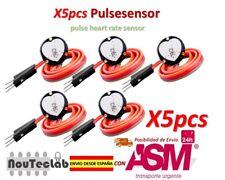 5pcs Pulsesensor Heart Rate Pulse Sensor Module Open Source for Arduino