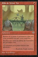 MTG Magic - Mirage -  Édit de Telim' Tor -  Rare VF