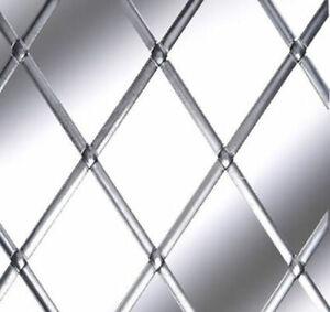 Self Adhesive Lead Strip For Windows Natural Silver 6mm x 5 Metre Coil Diamond