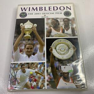 Wimbledon - The 2003 official film - Roger Federer Brand New & Sealed - All Reg