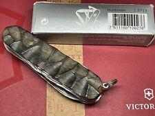 Couteau Suisse Victorinox Huntsman Custom Manche En Ébène