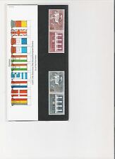 1984 ROYAL MAIL PRESENTATION PACK 2ND EUROPEAN ELECTIONS MINT DECIMAL STAMPS