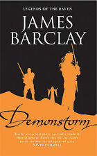 Demonstorm: Legends of the Raven (GOLLANCZ S.F.),Barclay, James,Excellent Book m